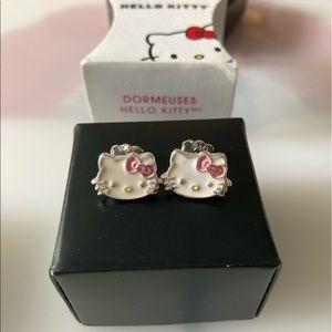 Hello Kitty Avon Earrings NWOT